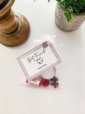 Best Friend Survival Kit Unique Thoughtful Personal Novelty Gift Birthday
