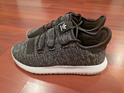 63a76a120e7f93 Adidas Tubular Shadow Youth Boys Athletic Sneakers Shoes Black White Size  1.5
