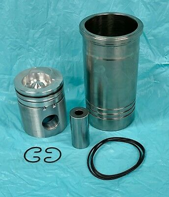 Genuine Navistar Case IH Piston & Sleeve Kit 1817646C92 1817520C2 Perkins 1306