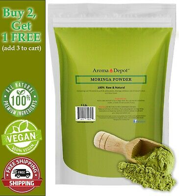 1lb Moringa Oleifera Leaf Powder 100% Pure Natural Organic Superfood Gluten Free