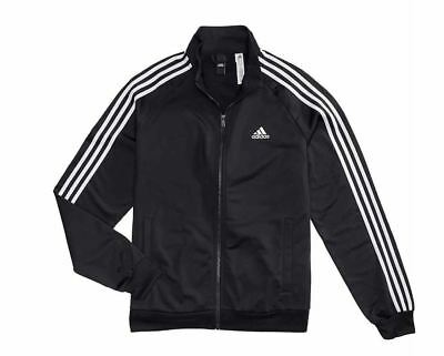 NEW ADIDAS MEN/'S ESSENTIALS ID BOMBER TRACK JACKET~ SIZE 2XL  #DH9063   WHITE