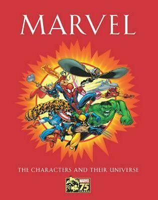Marvel: The Characters and Their Universe by Michael Mallory (English) Hardcover