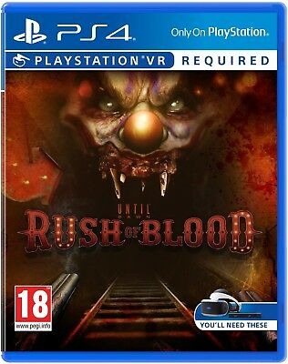 Until Dawn: Rush of Blood | PlayStation 4 PS4 PSVR VR New (1)