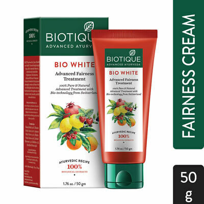 Biotique Bio White Advanced Fairness Treatment Cream 50g Nourish Ayurvedic Cream