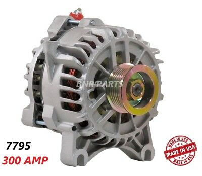 300 AMP 11540 Alternator Ford Lincoln High Output Performance HD USA NEW