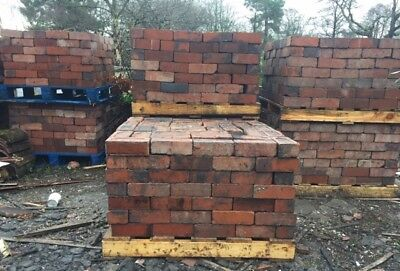 Reclaimed Cheshire Red Bricks Over 8000 available!