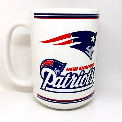 Custom Made Patriots AFC Champions 15oz Coffee Mug with your name