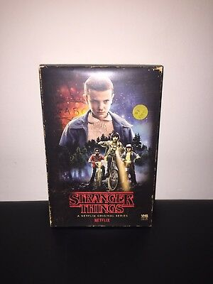 Stranger Things Season 1 Collector's Edition Target Blu-ray DVD new free ship