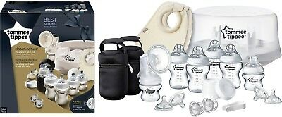 Tommee Tippee Closer to Nature Microwave Steriliser and Breast Pump Set. New