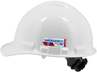 Majestic Glove Hard Hat Emergency Identification Tag, 1 Pack, Free Shipping