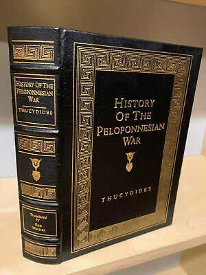 Easton Press History of the PELOPONNESIAN WAR by Thucydides Greek Classic