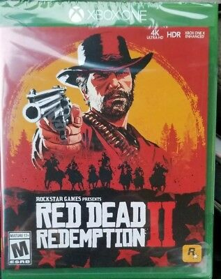 Red Dead Redemption 2  Standard Edition Xbox One Brand NEW Factory Sealed