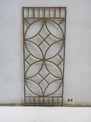 Antique Egyptian Architectural Wrought Iron Panel Grate (E-41)