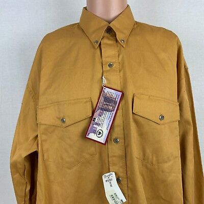 ff2098d2 Wrangler Mens Button Down Painted Desert Shirt 18-36 Vtg 90s Deadstock  Western
