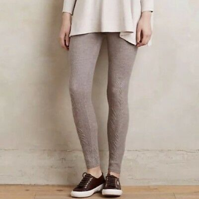 Nwt Anthropologie Pointelle Sweater Leggings By Sleeping On Snow Women S Clothing Clothing Shoes Accessories Navy Taupe S M Wvpd Org