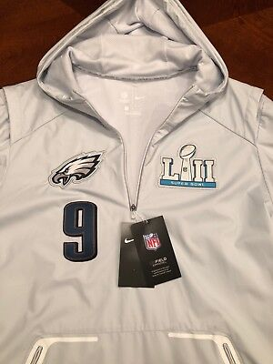 pretty nice 35c8c e6ec6 NIKE PHILADELPHIA EAGLES Nick Foles Super Bowl 52 LII Media Night Jacket  Size L
