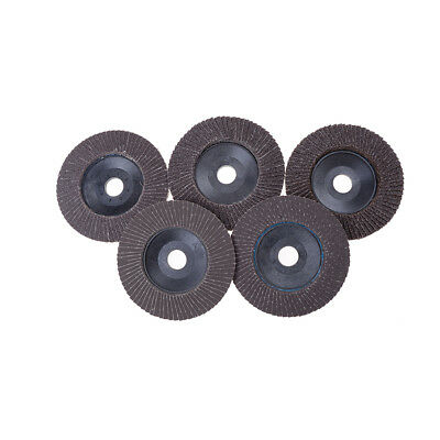 NEW 100mm Flap Sanding Discs 60-320 Grit Grinding Wheels Blades Angle Grinder IO