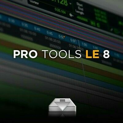 Pro Tools 8 LE Download and activation code PC & MAC COMPATIBILITY