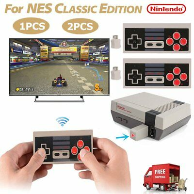 Wireless Controller Video GamePad for Mini Nintendo NES Classic Edition System X