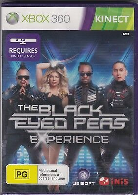 XBOX 360 Game - The Black Eyed Peas Experience (PAL)