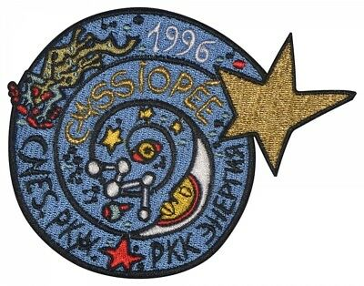 Soyuz Tm-24 Space Program Cassiopeia Embroidered Sleve Patch
