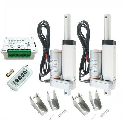 2x2'' 12V 330lbs Heavy Duty Linear Actuator & Wireless DC12/24V Motor Controller