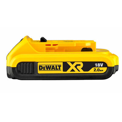 Latest Genuine Dewalt DCB183 18v 2.0Ah XR Li-Ion 2ah Lion Slide Battery