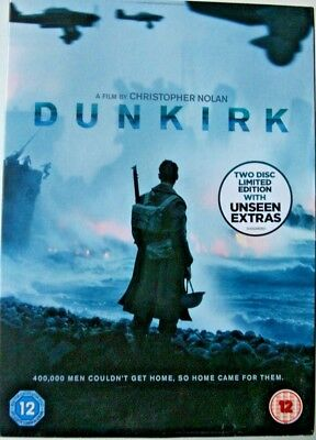 Dunkirk. Christopher Nolan. 2 Disk Special Edition. Genuine UK Used Copy.