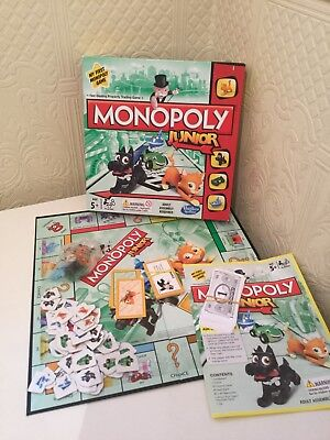 Monopoly Junior Board Game By Hasbro (A6984) with FREE UK POSTAGE