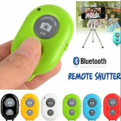 Free battery, Wireless Bluetooth Phone Camera Remote Control Shutter For Selfie