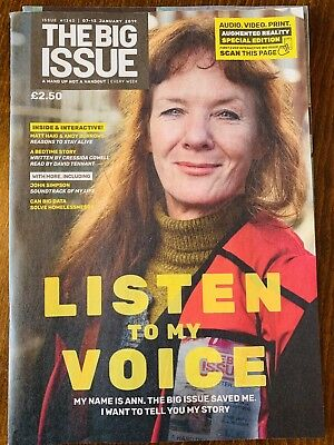The Big Issue No. 1340 Listen To My Voice Augmented Reality Special