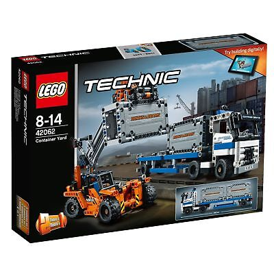 """LEGO® Technic 42062 """"Container-Transport"""" 2-in-1-Modell NEU/OVP NEW MISB"""