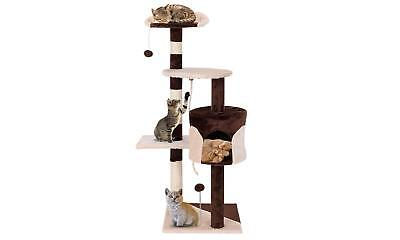 """43"""" Cat Tree Kitten Activity Tower Furniture Condo Perches Scratching"""