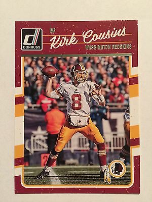 2016 KIRK COUSINS Washington Redskins Game Used Worn Nike Football ... 37b0be49a75