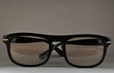 9157e9bc0eec1b NOS Persol Ratti 624 PERSOLMATIC from 80s vintage sunglasses made in Italy  BLACK