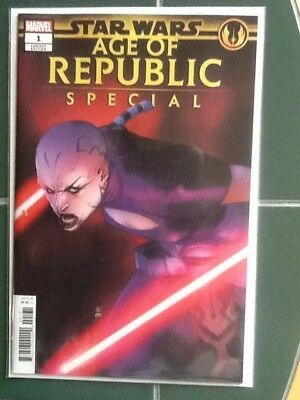 Star Wars Age Of Republic Special #1 Variant  Cover Marvel Comic