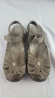 0c425127548 NEW KEEN 1016729 Womens Rose Sandal Brindle Shitake SIZE 8.5 ...