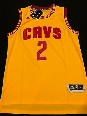 eb887118 Kyrie Irving #2 Cleveland Cavaliers Classic Throwback Yellow Jerseys - NWT