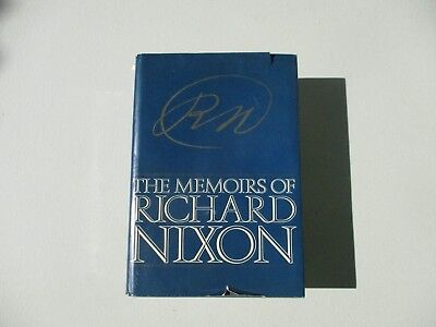 The Momoirs of Richard Nixon, Inscribed and Signed