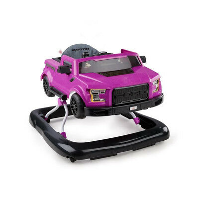 BRIGHT STARTS Trotteur 3 Ways to Play? - Ford F-150 Raptor - Magenta électrique
