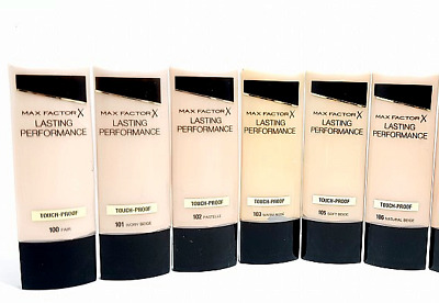 Max Factor Lasting Performance Foundation - Choose Your Shade *FAST & FREE PP*