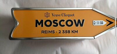 Veuve Clicquot Moscow Arrow Tin