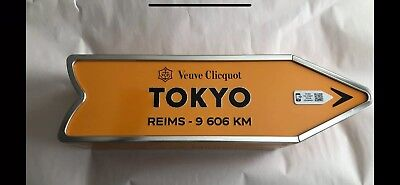 Veuve Clicquot Tokyo Arrow Tin Champagne Journey Arrow Street