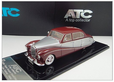 "1/43 Rolls-Royce Silver Cloud I ""Empress"" LWB Saloon 1956 (Red /Silver /Red)"