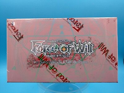 TCG display neuf FR force of will la sauveuse du clair de lune 36 boosters