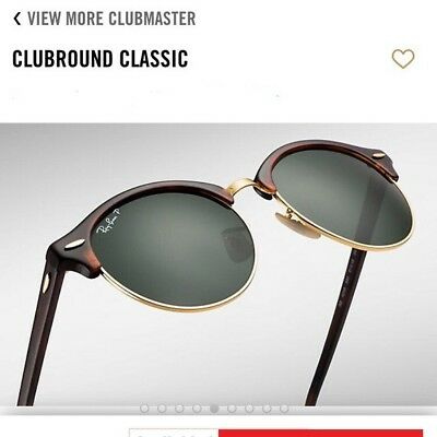 c2e4431cae RAY-BAN SUNGLASSES RB 4246 Clubround Authentic (Multiple Colors ...