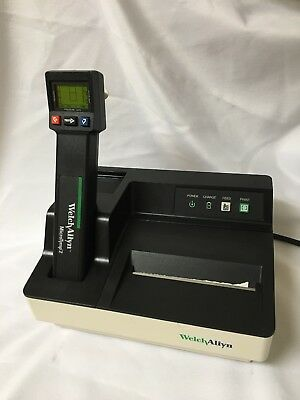 Welch Allyn MicroTymp 2 Tympanometer 23640 W/  71170 Printer Charger Guaranteed