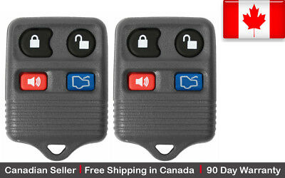 2x New Replacement Keyless Entry Remote Control Key Fob For Ford Lincoln Mercury