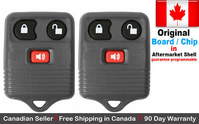 2x New Original OEM Replacement Keyless Entry Remote Control Key Fob For Ford