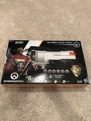 Nerf Rival Overwatch McCree Blaster - Brand New and Sealed